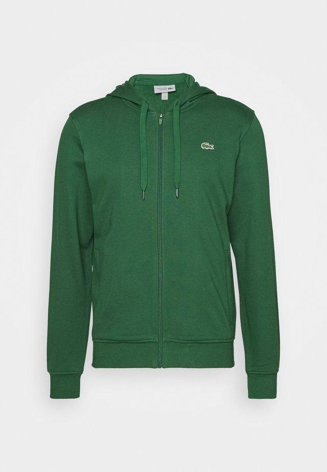 CLASSIC HOODIE JACKET - veste en sweat zippée - green