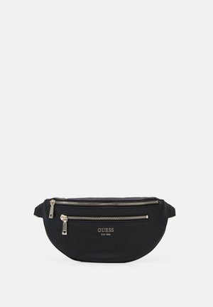 VIKKY BELT BAG - Ledvinka - black
