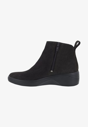 SOFT 7 WEDGE - Kotníková obuv - licorice