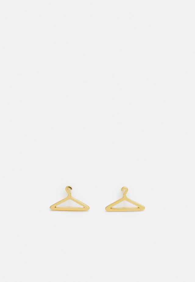 GOLD HANGER EARRING - Boucles d'oreilles - gold-coloured