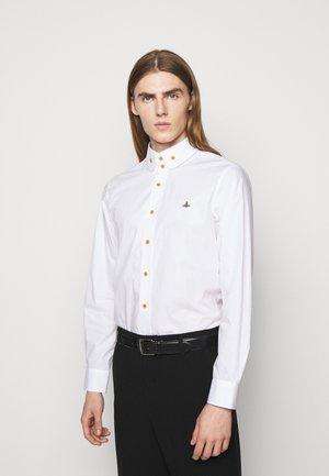 BUTTON KRALL SHIRT UNISEX - Košile - white