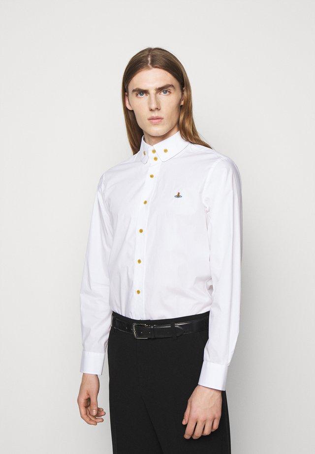 BUTTON KRALL SHIRT UNISEX - Overhemd - white