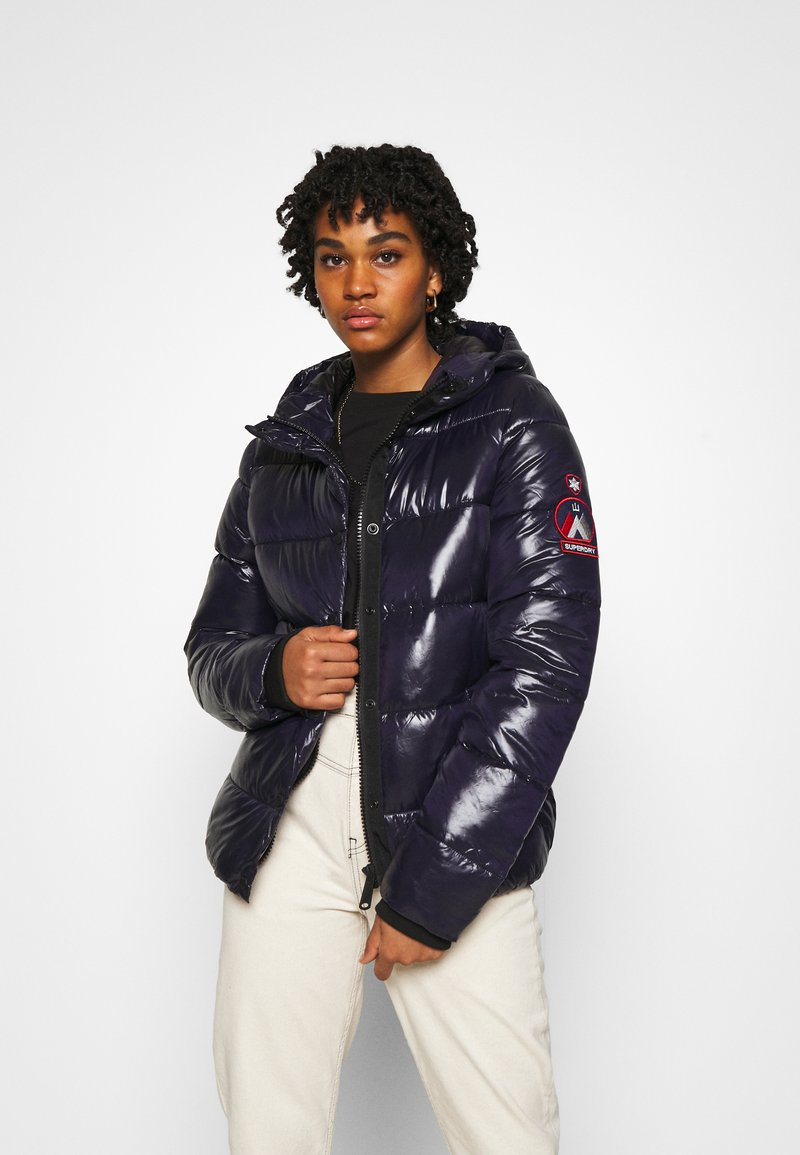 Superdry - HIGH SHINE TOYA - Winter jacket - nautical navy