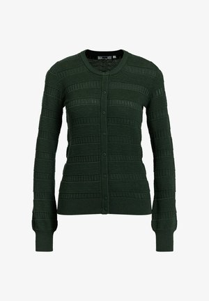 Strickjacke - army green