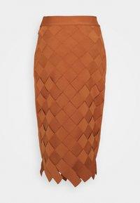 Hervé Léger - Pencil skirt - ginger - 1