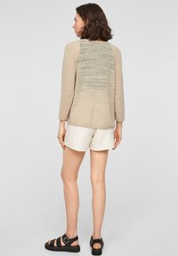 QS by s.Oliver - Cardigan - beige - 2