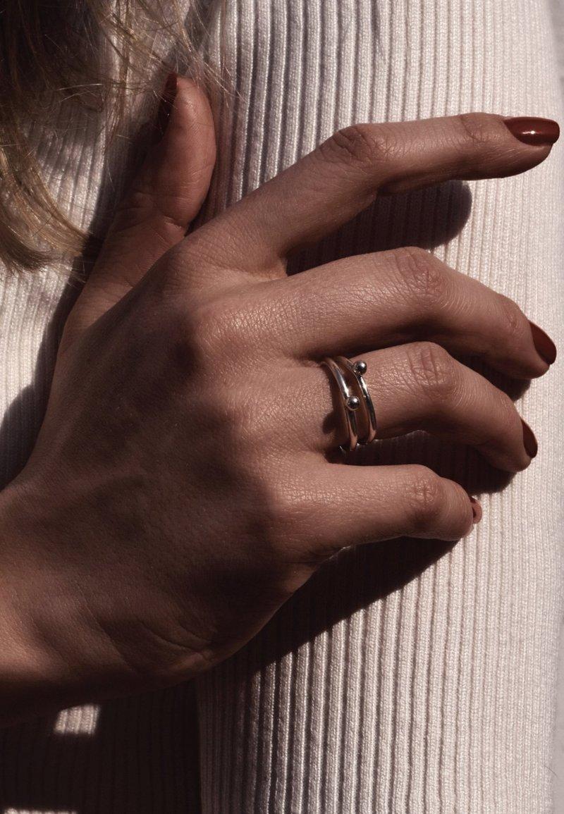 No More - MINI BUBBLE - Ring - silver