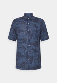 120% Lino - SHORT SLEEVE REGULAR FIT - Camicia - blue navy - 6