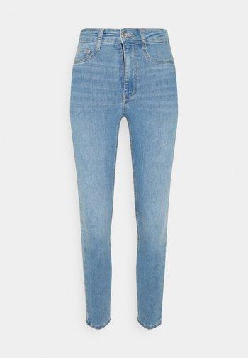 HIGHWAIST - Jeans Skinny Fit - blue