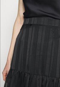 Guess - CHIKA SKIRT - Mini skirt - jet black - 3