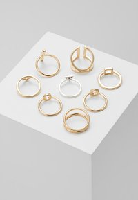 Monki - LUKA 8 PACK - Ring - gold-coloured - 2