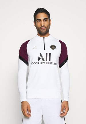 PARIS ST GERMAIN DRY DRIL CL - Club wear - white/bordeaux/black/truly gold