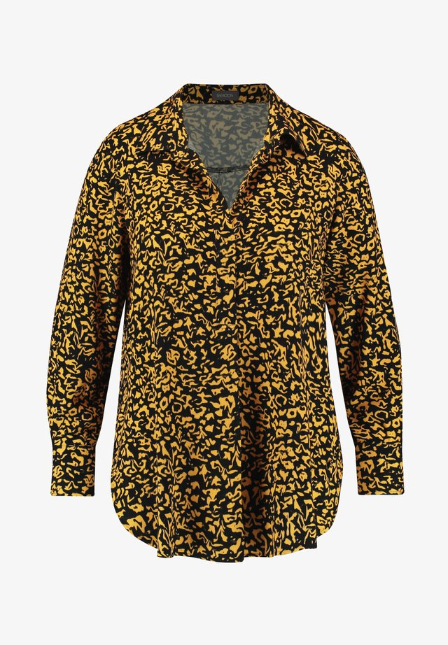 MIT ANIMAL-PRINT - Tuniek - yellow