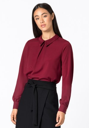 CRÊPE-BLUSE - Blouse - ruby red
