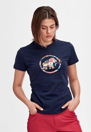 NATIONS - T-shirt con stampa - peacoat