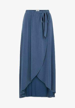 OBJANNIE NOOS - Wrap skirt - ensign blue