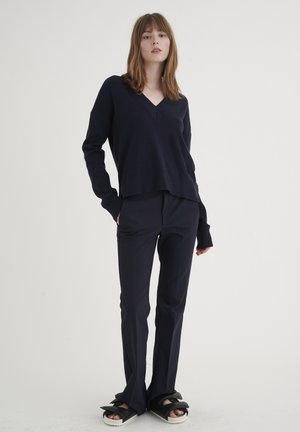 ZELLAIW  - Trousers - marine blue