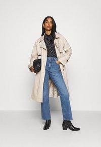 ONLY - ONLZILLE NAYA SMOCK - Long sleeved top - black/lavender - 1