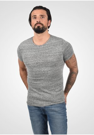 T-shirt basic - med grey m