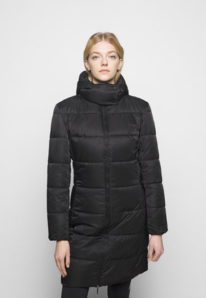 FLEURIS - Wintermantel - black