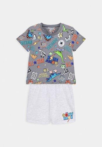 SET - T-shirt z nadrukiem - lunar rock heather