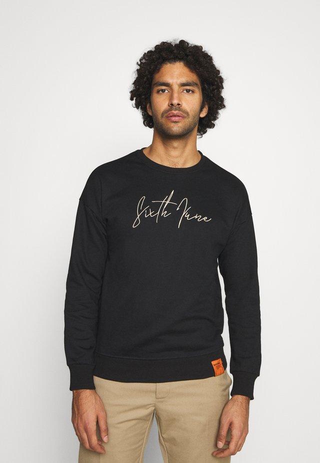 FRONT SIGNATURE - Sweatshirt - black