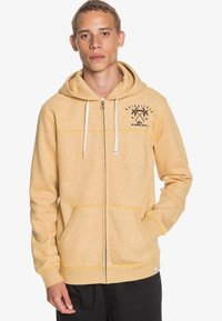 Quiksilver - Zip-up hoodie - honey heather - 0