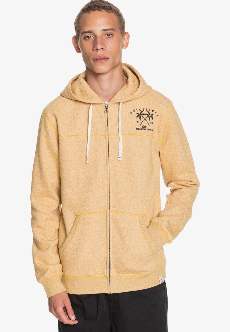 Quiksilver - Zip-up hoodie - honey heather
