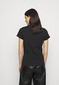 HUGO - THE SLIM TEE - T-Shirt print - black - 2