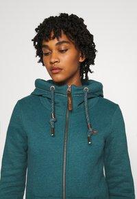Ragwear - NESKA ZIP - Zip-up hoodie - petrol - 4