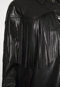 River Island Petite - Faux leather jacket - black - 5