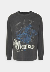 Mennace - SKELETAL MULE - Long sleeved top - dark grey