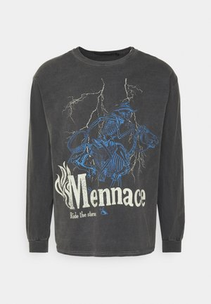 SKELETAL MULE - Langærmede T-shirts - dark grey
