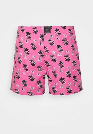 SINGLE PATTERN - Boxer shorts - pink