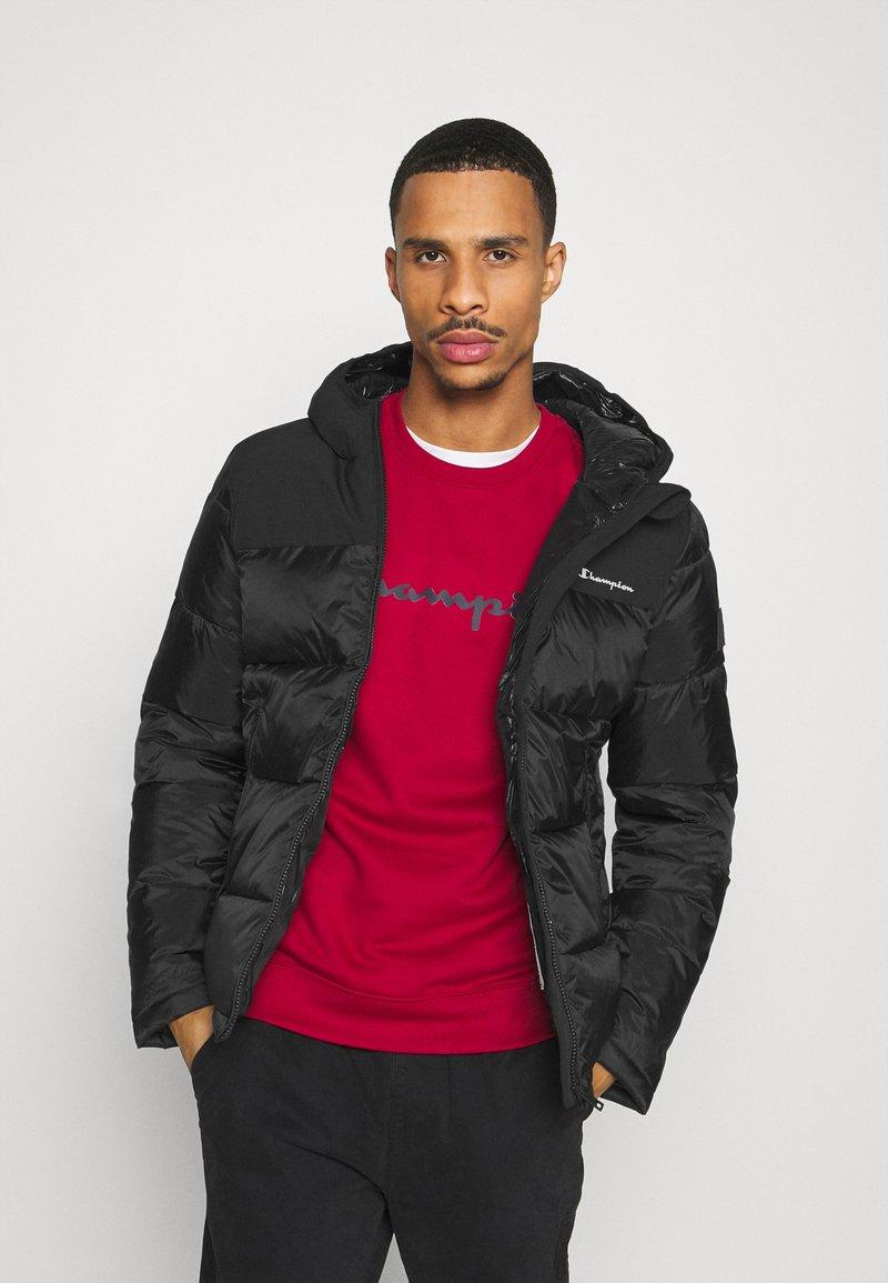 Champion - LEGACY HOODED JACKET - Training jacket - black