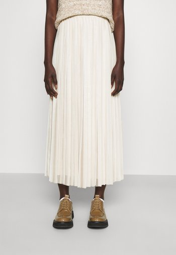 ETIOPIA - Maxi skirt - ivory