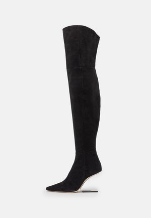 YASMINA BOOT  - Overknees - black