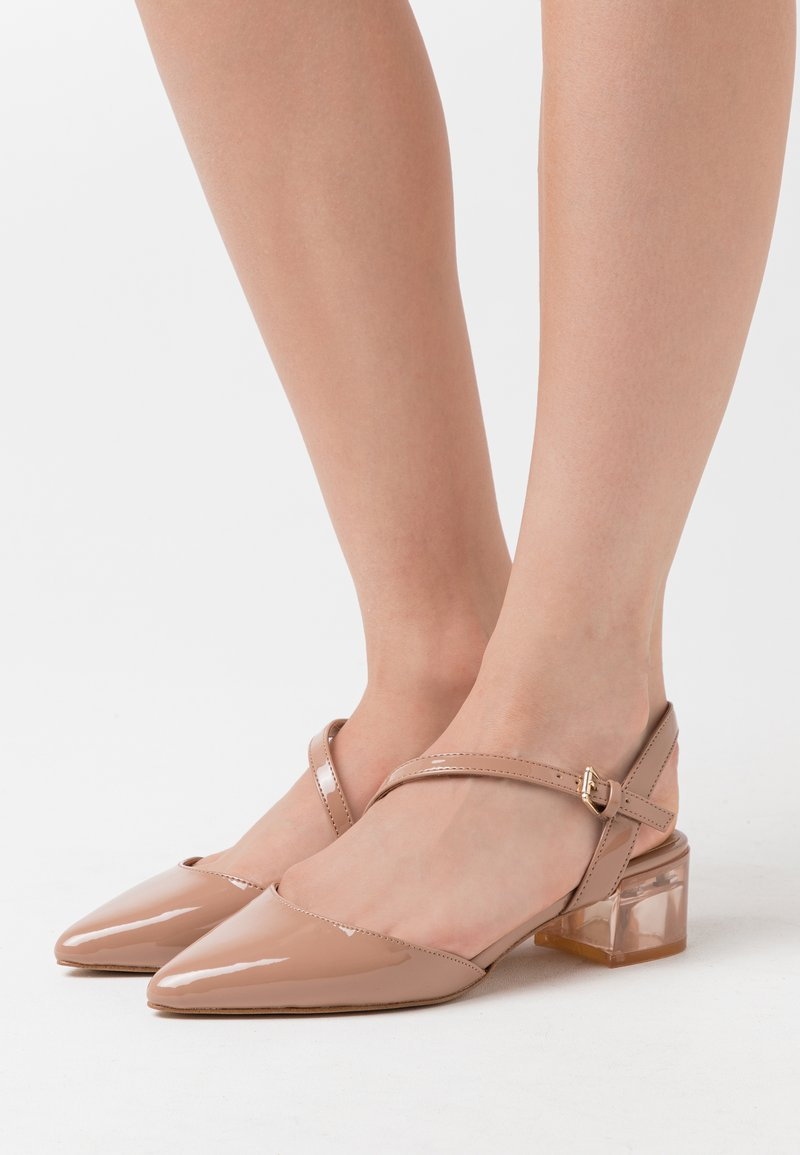 ALDO - ATURA - Classic heels - nude