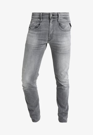 ANBASS - Jeans slim fit - grey denim
