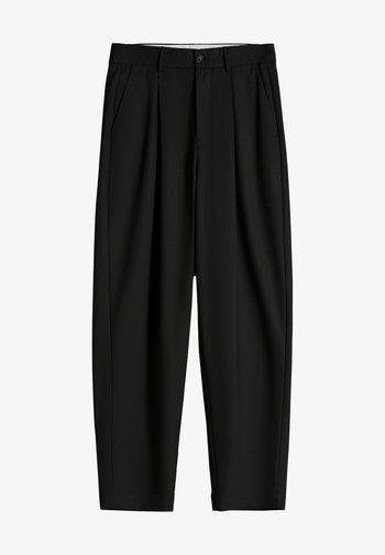 WIDE FIT - Pantalon classique - black