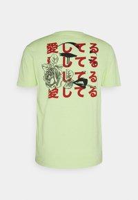 YOURTURN - UNISEX - T-shirt imprimé - light green - 7