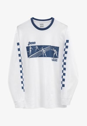 MN VANS X PENN LS - Long sleeved top - (penn) white
