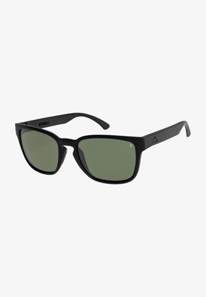 REKIEM - Sunglasses - matte black/mineral glass gree