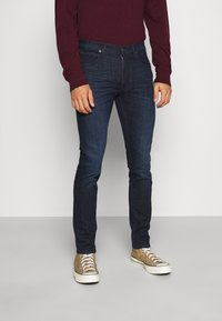 Lee - LUKE - Slim fit jeans - dark-blue denim - 0