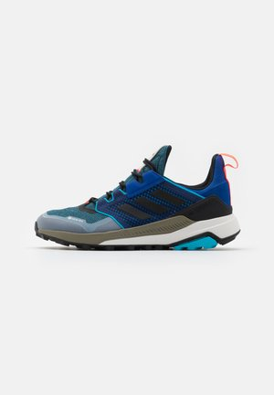 adidas TERREX TRAILMAKER GORE-TEX WANDERSCHUHE - Hiking shoes - royal blue/core black/signal cyan