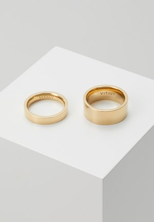GRIP UNISEX SET - Ring - gold-coloured