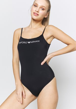 SWIMSUIT LOGO LOVER - Swimsuit - black