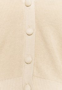 Zign - SHORT CARDIGAN - Cardigan - tan - 2