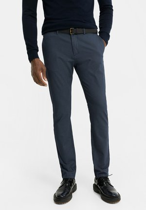 SKINNY FIT - Trousers - blue