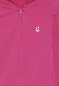 Benetton - JACKET HOOD  - Zip-up hoodie - pink - 4